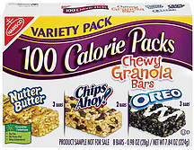 nabisco 100 calorie packs