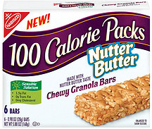 nabisco 100 calorie packs chewy granola bars  don like