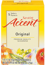 Accent Seasoning Sa-Son Original 0.17 Oz Packets 5.0 Ct ...
