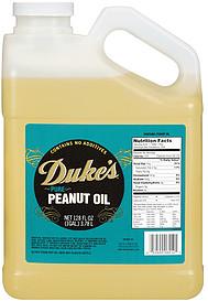 Duke's Peanut Oil