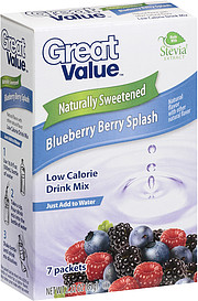 Great Value Low Calorie Drink Mix