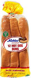 nickles hot dog buns enriched 17 0 oz nutrition information shopwell. Black Bedroom Furniture Sets. Home Design Ideas