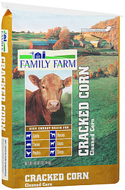 Family Farm Cracked Corn Animal Feed