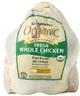 Organic Chicken Whole Fryer, Free Range