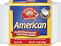 Shurfresh Cheese Pasteurized Process American Slices 16.0 ...