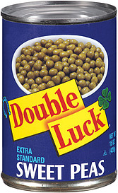 Double Luck Peas