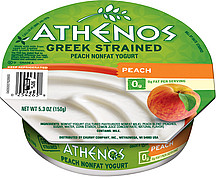 Athenos Greek Strained Yogurt Peach Reviews