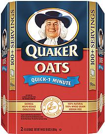 Quaker Oats Quick 1 Minute  Quaker Oatmeal Clipart