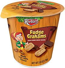 Keebler Grahams Fudge 2.8 oz Nutrition Information | ShopWell