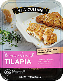 parmesan crusted tilapia nutrition facts