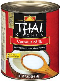 Thai Kitchen Coconut Milk 576 0 Fl Oz Nutrition Information Shopwell