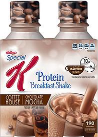 Special k coffee house breakfast shakes