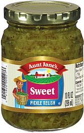aunt janes pickle relish
