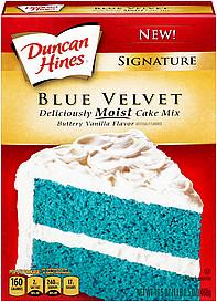 Duncan Hines Cake Mix Sugar Free