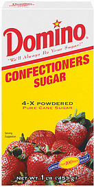POWDERED 4x-DOMINO SUGAR 24/1lbs