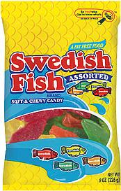Swedish fish candy for Swedish fish nutrition
