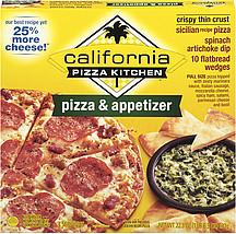 California Pizza Kitchen Pizza Appetizer Sicilian Recipe Crispy Thin Crust Spinach Artichoke