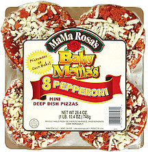 Mama Rosa S Pizza Baby Mama S Pepperoni Mini Deep Dish 8 0