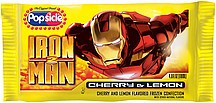 Popsicle Ice Cream Bars Iron Man Pop 1.0 Ct Nutrition ...